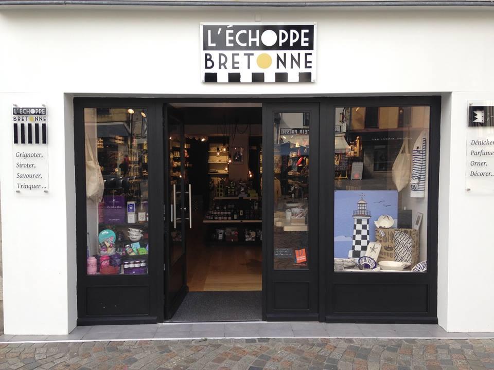 concept store de produits bretons à Quimper